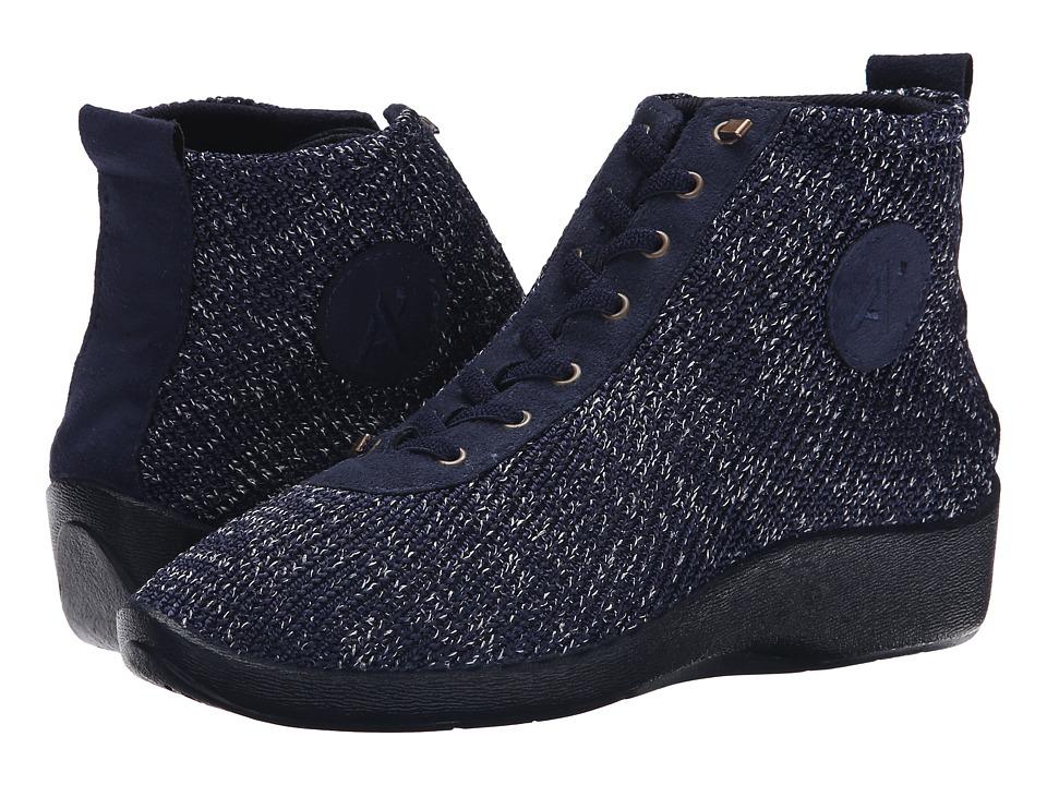 Arcopedico Shocks 5 (Navy Starry Nite) Women's Flat Shoes