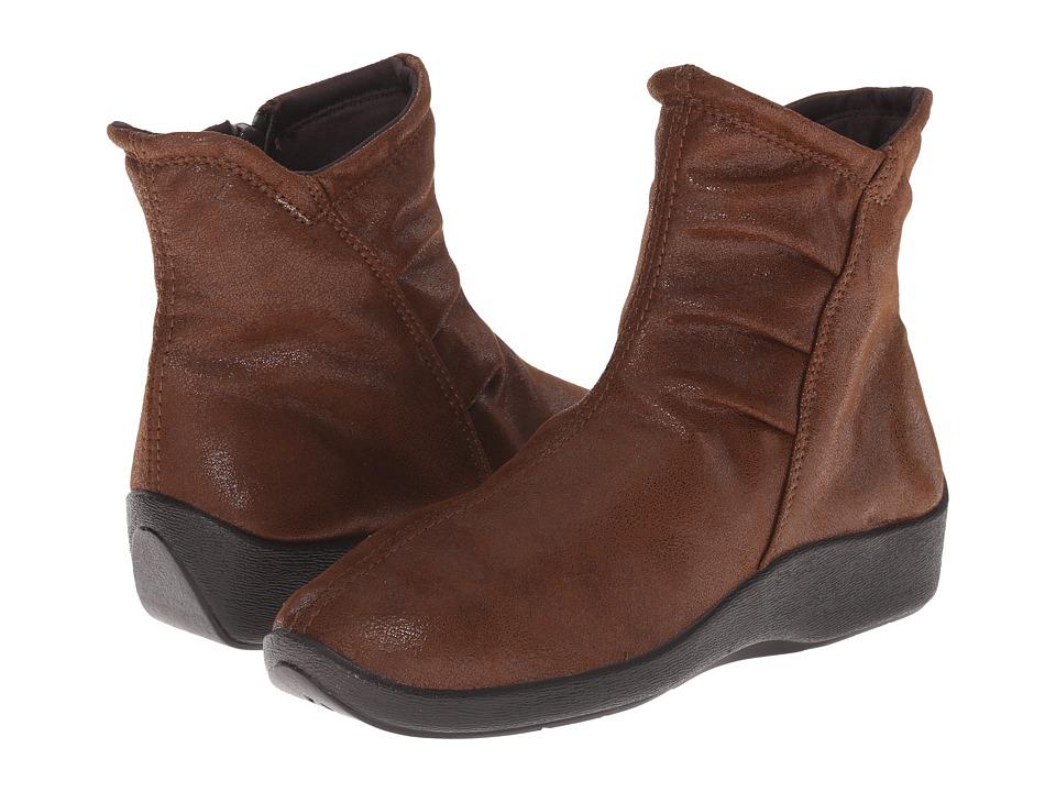 Arcopedico L19 (Brown) Women's Zip Boots