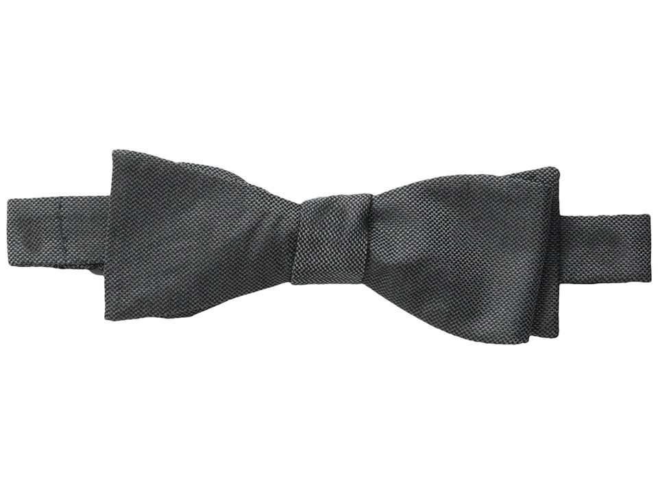 Cufflinks Inc. Silk Bow Tie Charcoal Ties