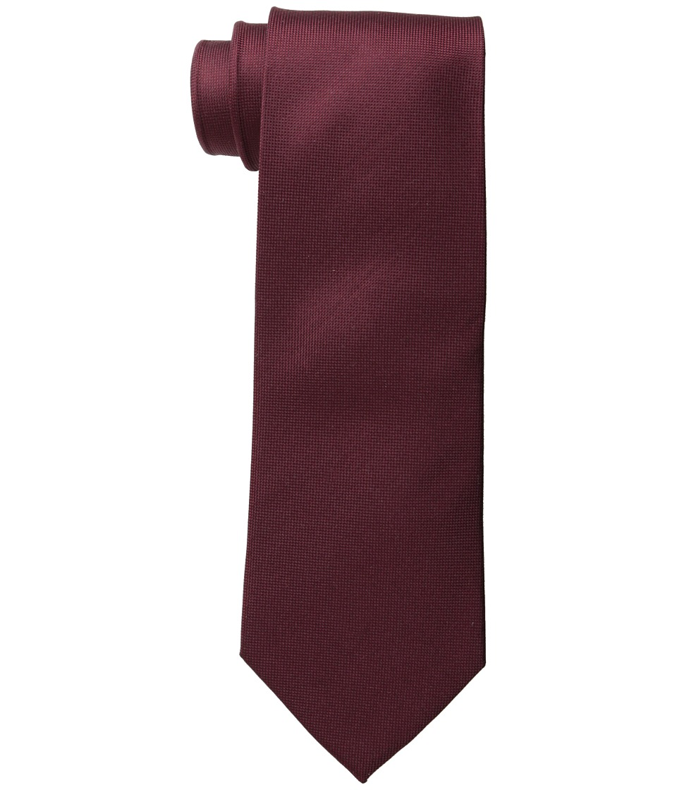 Cufflinks Inc. Silk Tie Maroon Ties