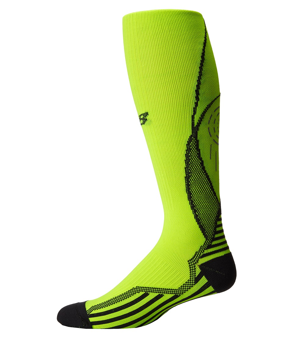 New Balance - Compression Over The Calf Tube (Yellow) Crew Cut Socks Shoes