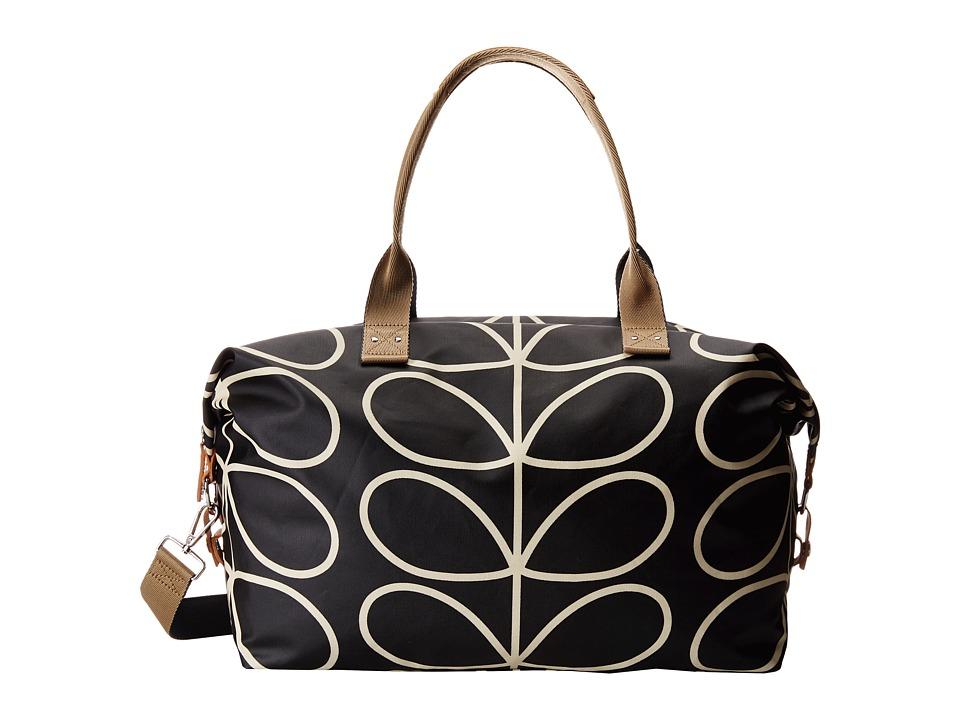 Orla Kiely - Zip Holdall (Liquorice) Handbags