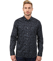 Ted Baker - Amzdog Long Sleeve Painted Floral Print Shirt
