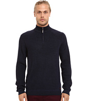 Ted Baker - Hardmun Ribbed Detail Long Sleeve Funnel Neck