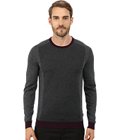 Ted Baker - Lewcat Color Block Long Sleeve Crew Neck