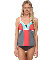 Nautica - Off The Block Tankini Swimwear Top NA20146