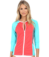 Nautica - Off The Block Surf Shirt Cover-Up Top NA20716