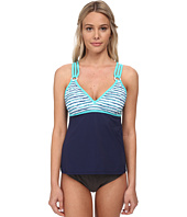 Nautica - Hold The Line Strapped Tankini Swimwear Top NA21246