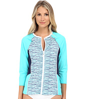 Nautica - Hold The Line Surf Shirt Cover-Up Top NA21716