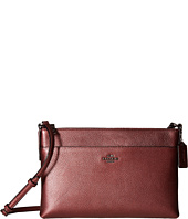 COACH - Metallic Pebbled Leather Journal Crossbody