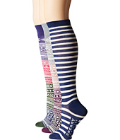 Sperry Top-Sider - Fair Isle Knee High 3-Pack Giftable