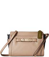 COACH - Color Block Pebbled Leather Coach Swagger Wristlet