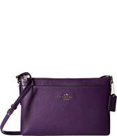 COACH - Bicolor Polished Pebble Leather Journal