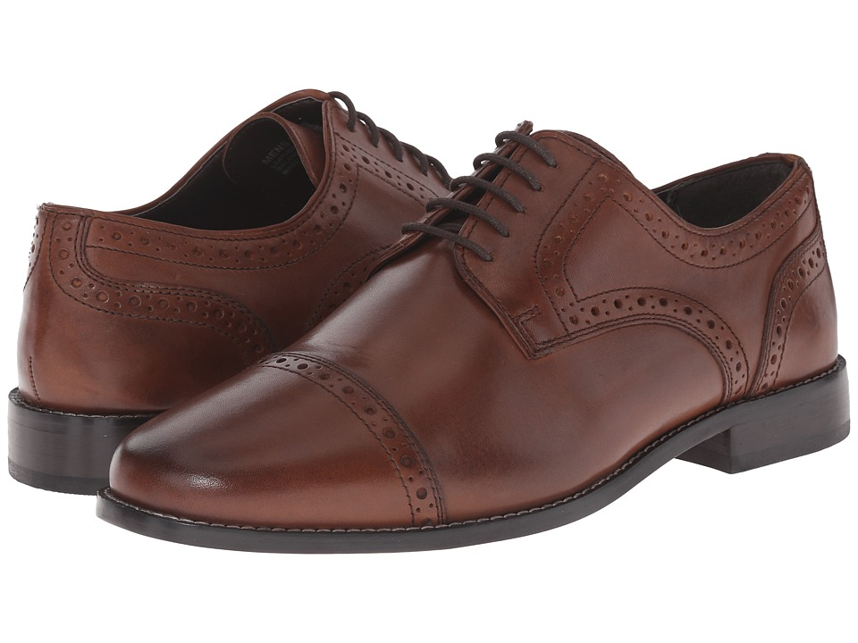 Nunn Bush Norcross Cap Toe Oxford (Brown) Men