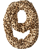 MICHAEL Michael Kors - Leopard Raschel Large Infinity Scarf