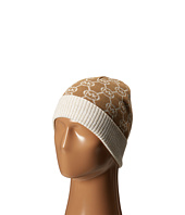 MICHAEL Michael Kors - Jet Set Logo with Lurex Cuff Hat