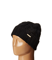 MICHAEL Michael Kors - Cable Knit Hat with Fold Up Cuff