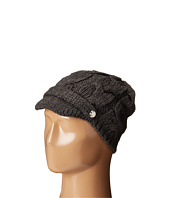 MICHAEL Michael Kors - Cable Knit Peak Hat with Knit Brim