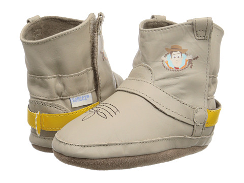 Robeez Disney® Baby By Robeez Woody Bootie Soft Sole (Infant/Toddler) - Taupe
