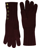 MICHAEL Michael Kors - Fisherman Stitch Button Glove
