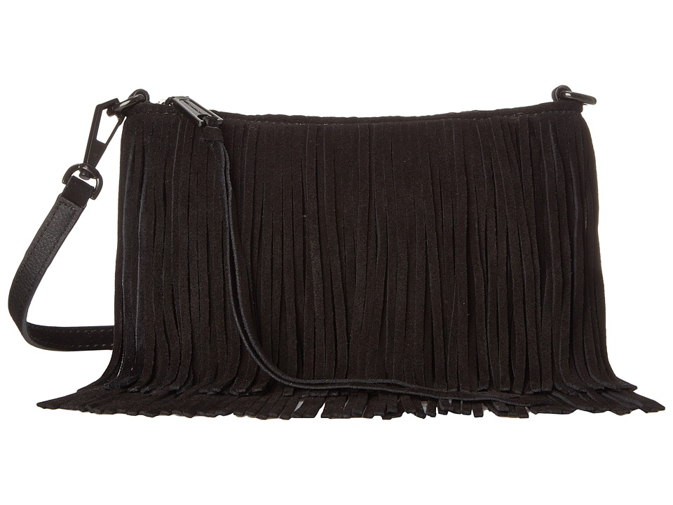 Rebecca Minkoff - Finn Crossbody (Black) Cross Body Handbags