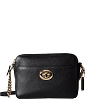 COACH - Pebbled Leather Turnlock Camera Bag