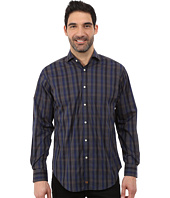 Thomas Dean & Co. - Long Sleeve Woven Modern Plaid