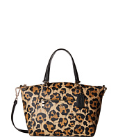 COACH - Leopard Ocelot Print Leather Prairie Satchel