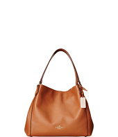COACH - Refined Pebble Leather Edie 31 Shoulder Bag