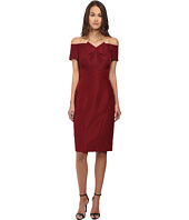 Zac Posen - Off The Shoulder Dress with Front Pleat