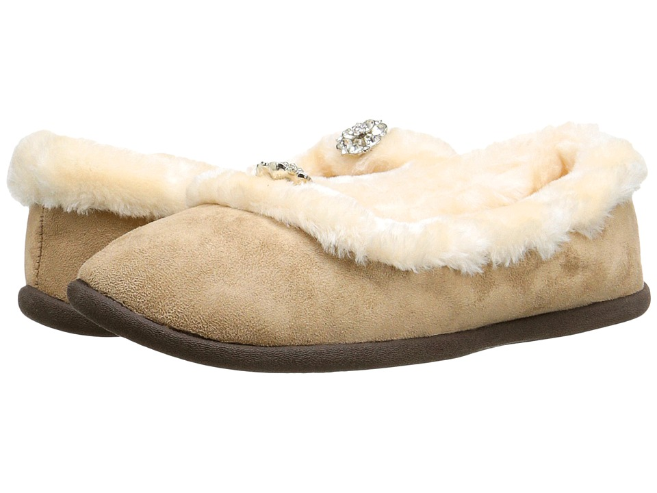 Daniel Green Clarice Tan Womens Slippers