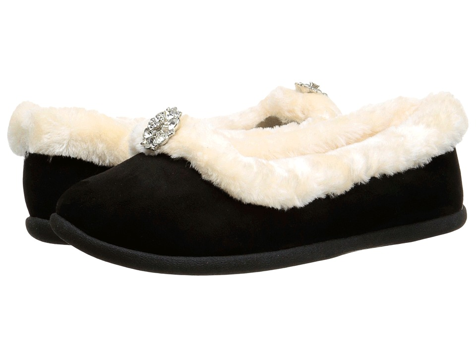 Daniel Green Clarice Black Womens Slippers