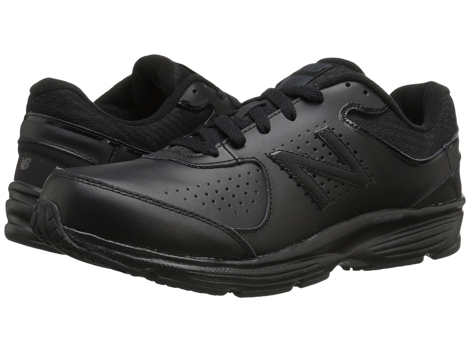 New Balance MW411v2 (Black) Men's Walking Shoes