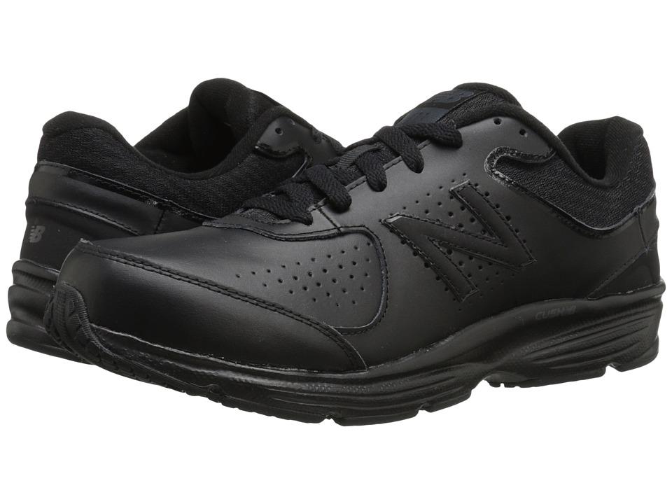 New Balance MW411v2 Black Mens Walking Shoes