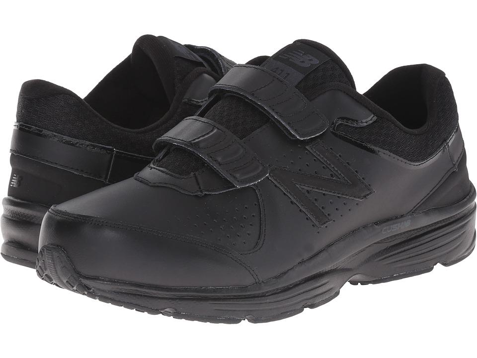 New Balance - MW411v2 (Black) Mens Hook and Loop Shoes