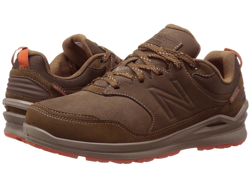 new balance brown tennis shoes
