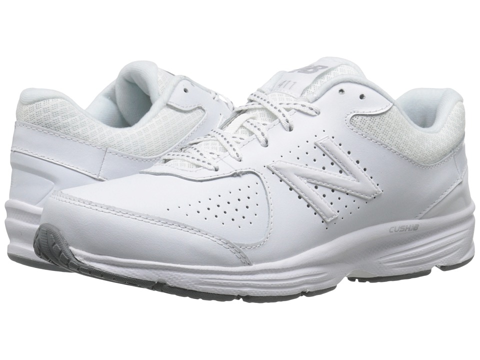 New Balance WW411v2 (White) Walking Shoes