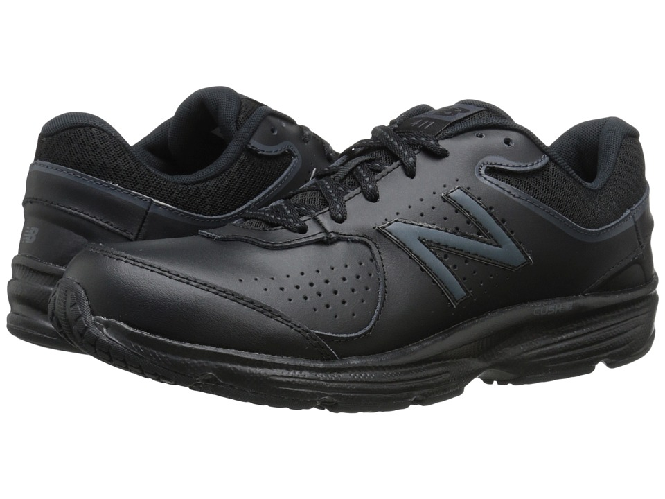 New Balance WW411v2 (Black) Walking Shoes