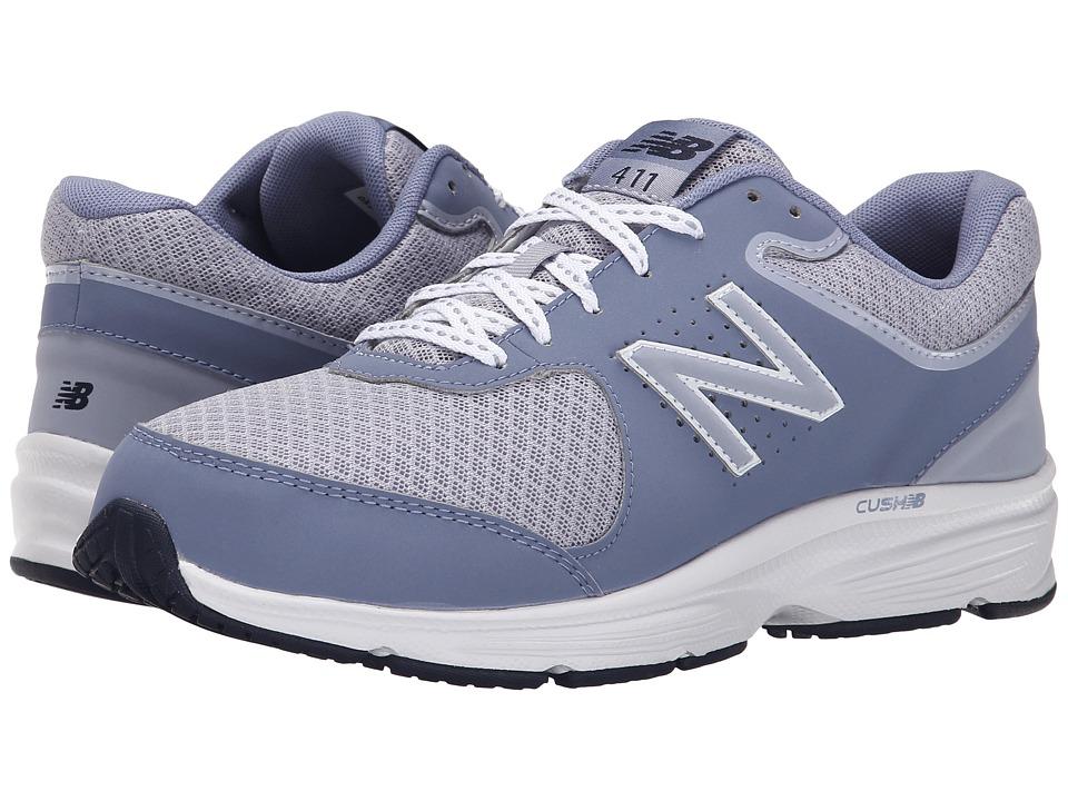 New Balance - WW411v2 (Grey) Womens Walking Shoes