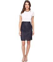 Calvin Klein - Eyelet Sheath Dress