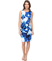 Calvin Klein - Jersey Sheath with Zipper Detail Dress