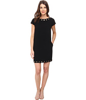 Calvin Klein - Cap Sleeve Dress w/ Hardware Detail
