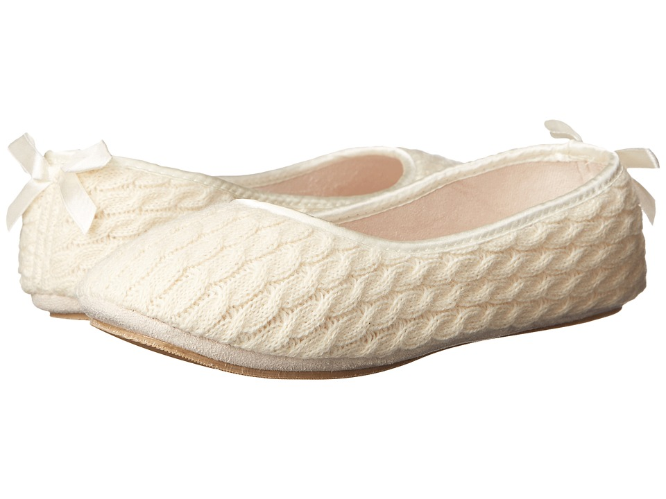 Patricia Green Cassie (Ivory) Slippers
