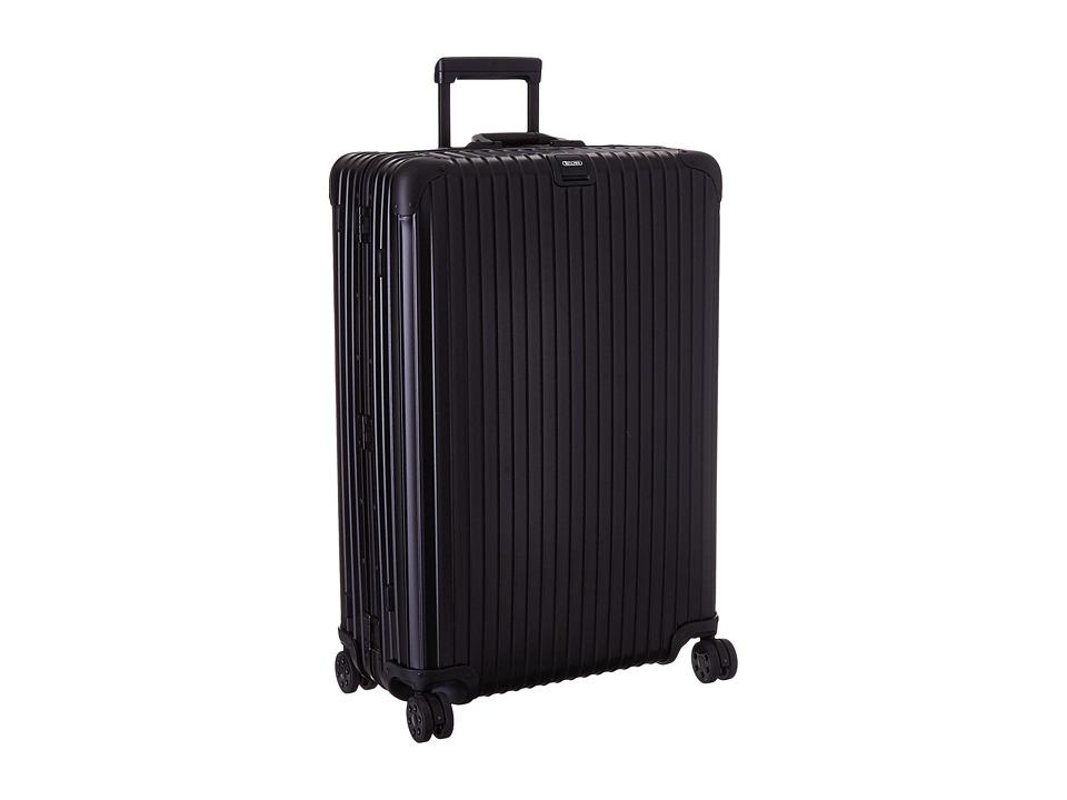Rimowa - Topas Stealth - Multiwheel 32 (RHD) (Black) Luggage
