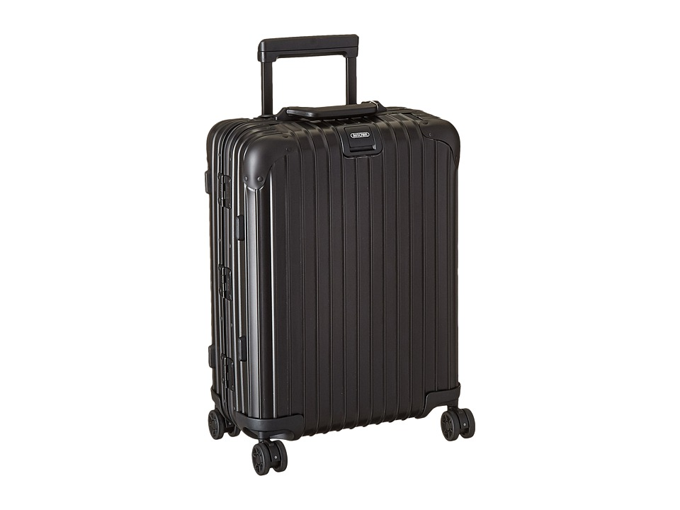 Rimowa - Topas Stealth - Cabin Multiwheel 53 (RHD) (Black) Carry on Luggage