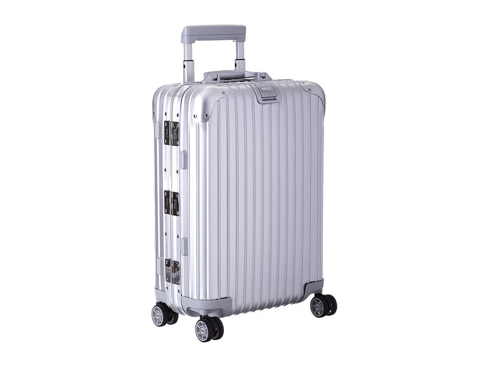 Rimowa - Topas - Cabin Multiwheel(r) 52 (RHD) (Silver) Lu...