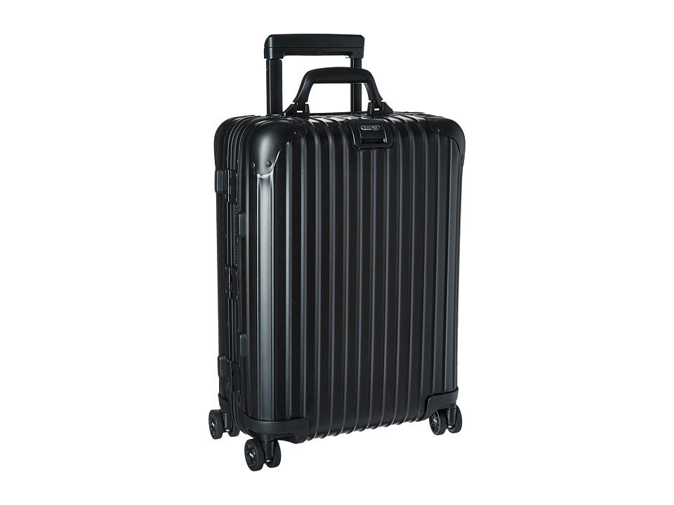Rimowa - Topas Stealth - Cabin Multiwheel 52 (RHD) (Black) Luggage