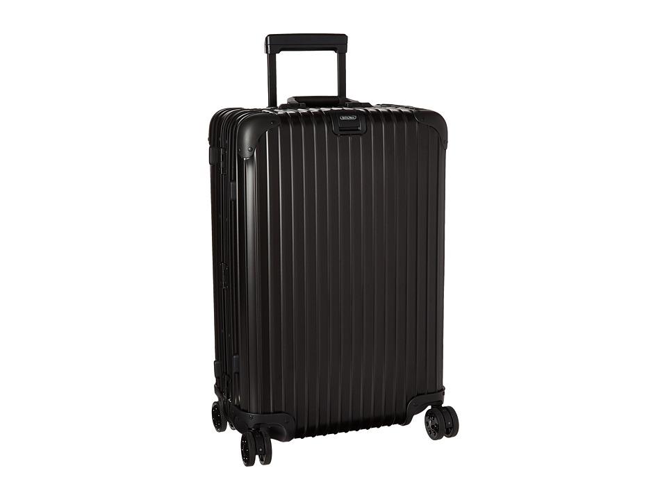 Rimowa - Topas Stealth - Multiwheel 26 (RHD) (Black) Luggage