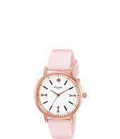 Kate Spade New York - Crosby Bow Marker Silicone Strap Watch - 1YRU0871