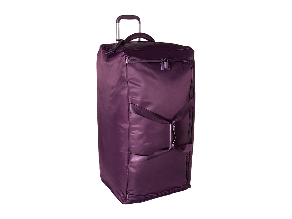 Lipault Paris - 0% Pliable 30 Wheeled Duffel (Purple) Duffel Bags